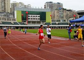 匯川區第六屆中小學生田徑運動會舉行