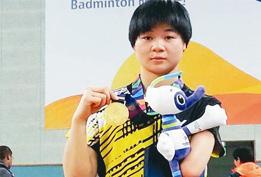 織金小將孫守群在亞洲殘疾人運動會上奪冠