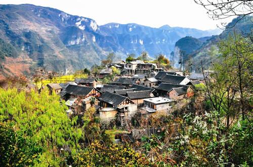 織金營上古寨保護與旅遊開發同步