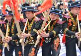 貴州雷山南猛苗寨舉行蘆笙舞傳承大賽