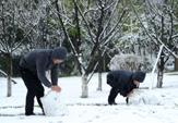 貴州多地迎來2015年首場降雪