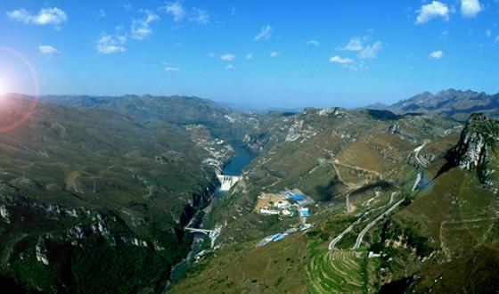 马马崖水电站投产发电 贵州大型水电站建设画上句号