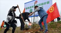 """團省委""""多彩貴州·青春綠動""""綠化造林活動開展"""
