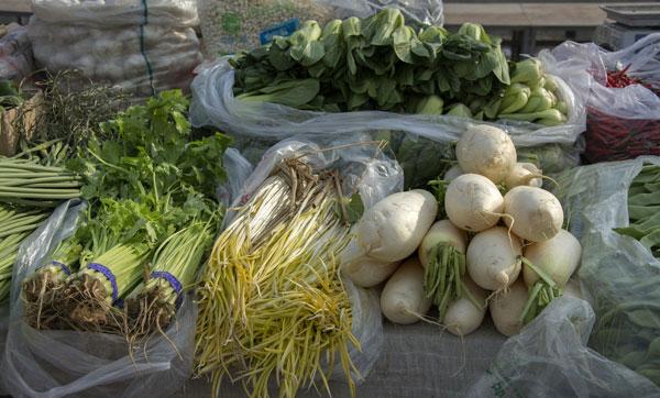 貴州省菜市整治嚴查兩超一非 保證市民食品安全
