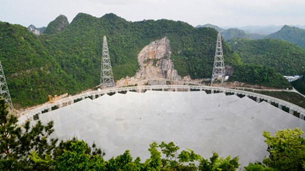 世界最大射電望遠鏡反射面板安裝進入尾聲