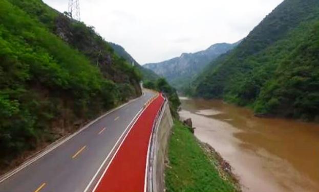 """貴州首條旅遊公路全線貫通 可騎行穿""""閱"""""""