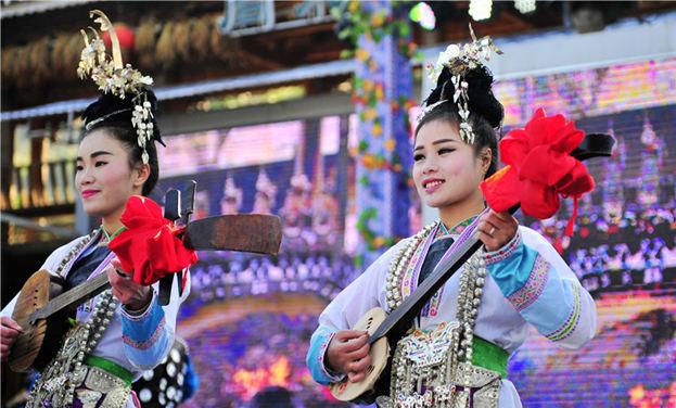 第十三届原生态侗族大歌节开幕