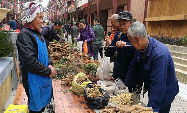贵州凯里:苗侗医药文化街开市