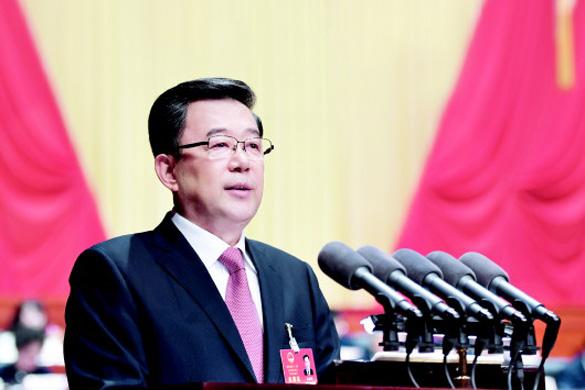 貴州省十二屆人大五次會議開幕 孫志剛作《政府工作報告》