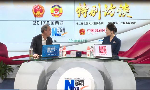 貴州省農委、省茶辦常務副主任胡繼承作客新華訪談