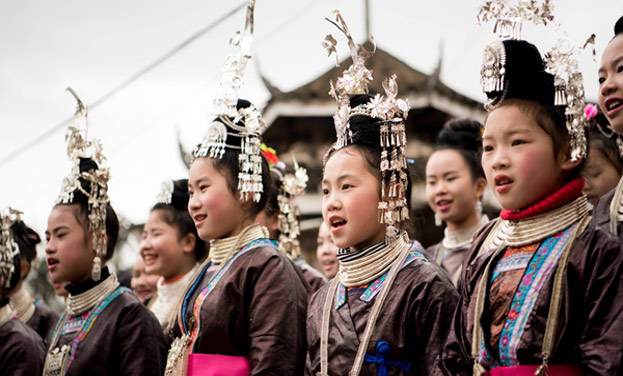 """貴州從江:侗族同胞歡度傳統""""春社"""""""