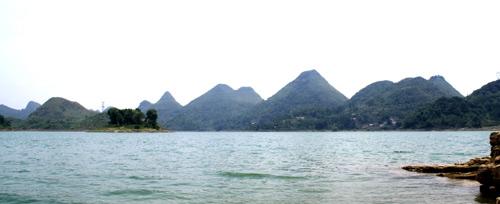 桂家湖風光