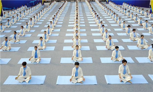 2017全國健身瑜伽公開賽普安站開賽
