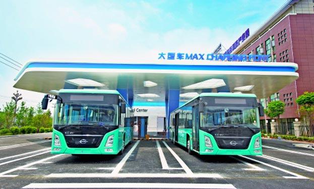 绿色公交 智慧环保出行方便