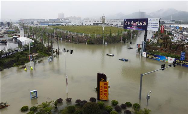 貴州出現強降雨天氣