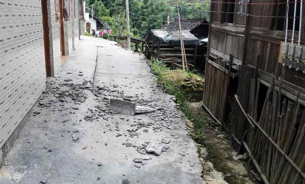 貴州劍河發生3.3級地震