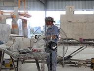石材加工生産