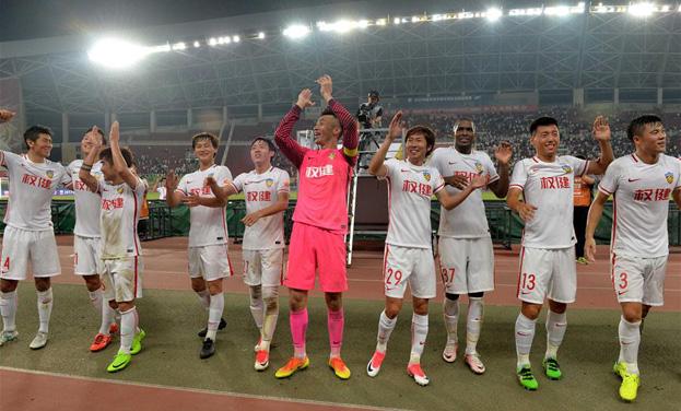 足球——中超:天津權健勝貴州恒豐智誠