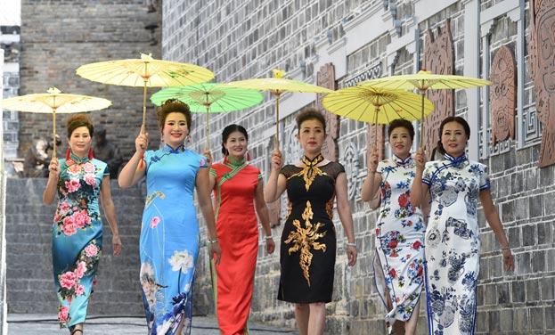 黔東古城旗袍秀