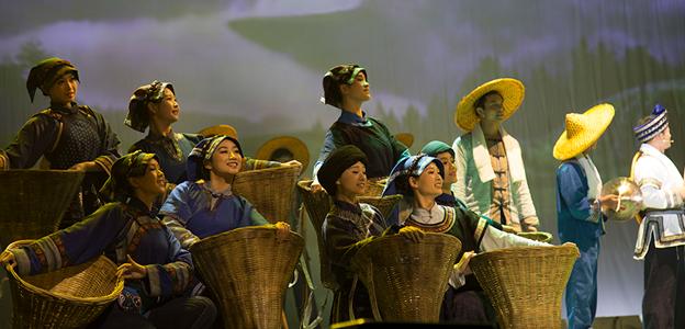 《情姐下河洗衣裳》:鄉土文化音畫