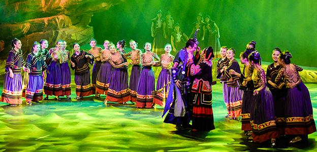 《支格阿魯》:大型彝族史詩舞劇呈現瑰麗恢宏