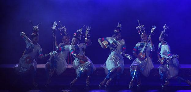 第六屆貴州省少數民族文藝會演在貴陽開幕