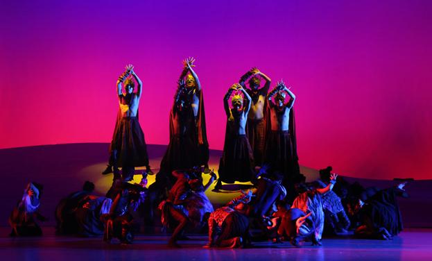 大型彝族神話舞劇《支嘎阿魯》在貴陽上演