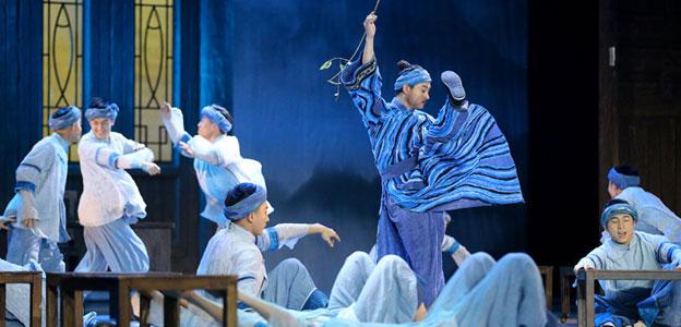 舞劇《木樓古歌》貴陽上演 講述水家兒女保護水書事跡