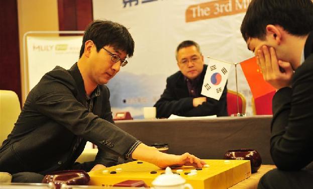 圍棋——夢百合杯半決賽:謝科、李軒豪無緣決賽