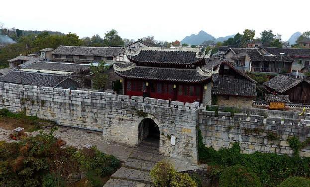 航拍貴州青岩古鎮 感受600年悠悠古韻