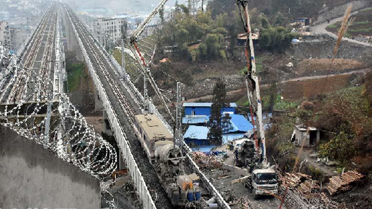 川黔铁路贵州遵义城区段外迁工程进展顺利
