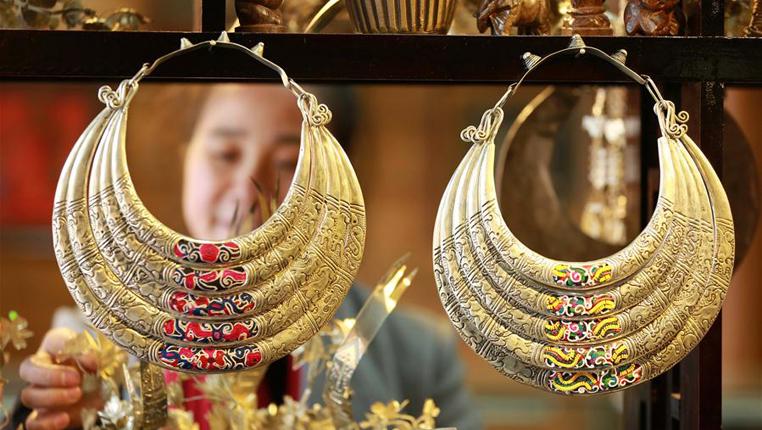 貴州黎平:創意銀飾助農增收