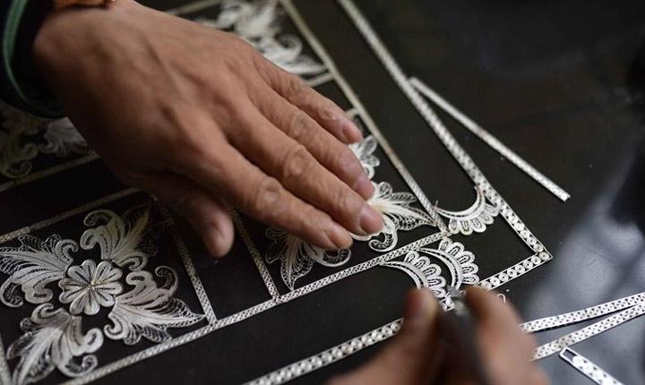 貴州丹寨:苗族銀飾鍛制技藝