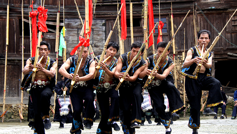 贵州雷山:春节民族风情体验醉游客