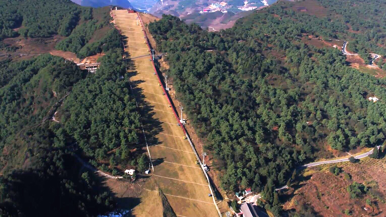 鸟瞰绿色贵州——玉舍森林公园