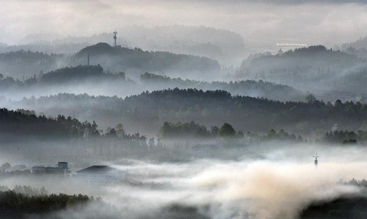 貴州鳳岡 夢幻茶鄉