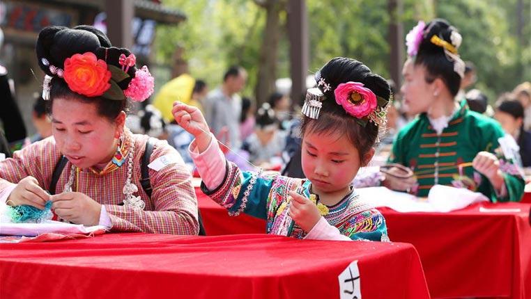 貴州丹寨:賽指尖技藝 傳手工非遺