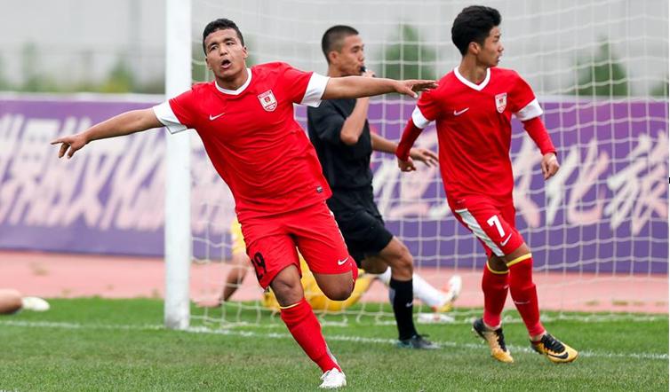 足球——全国青少年足球超级联赛:贵州恒丰平长春亚泰