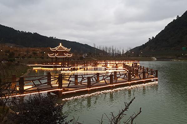 龍裏蓮花生態濕地公園項目