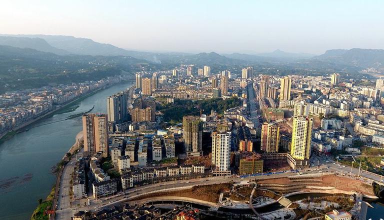 新华网航拍:长江经济带之贵州篇