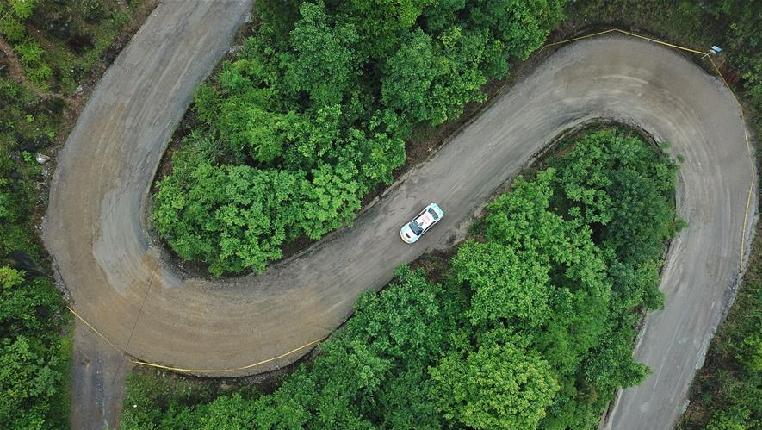 2018年中國汽車拉力錦標賽首站第二日賽況