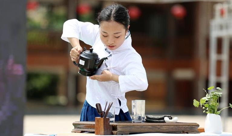 貴州黎平舉行茶藝大賽