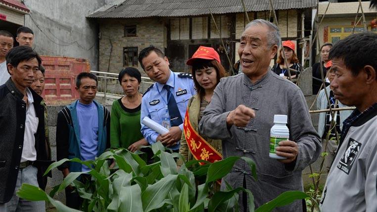 貴州:活躍在山村的民警脫貧攻堅突擊隊