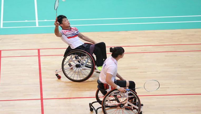 羽毛球——2018全國殘疾人錦標賽開賽