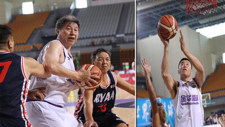 籃球——北京世界華人籃球賽在興義市舉行