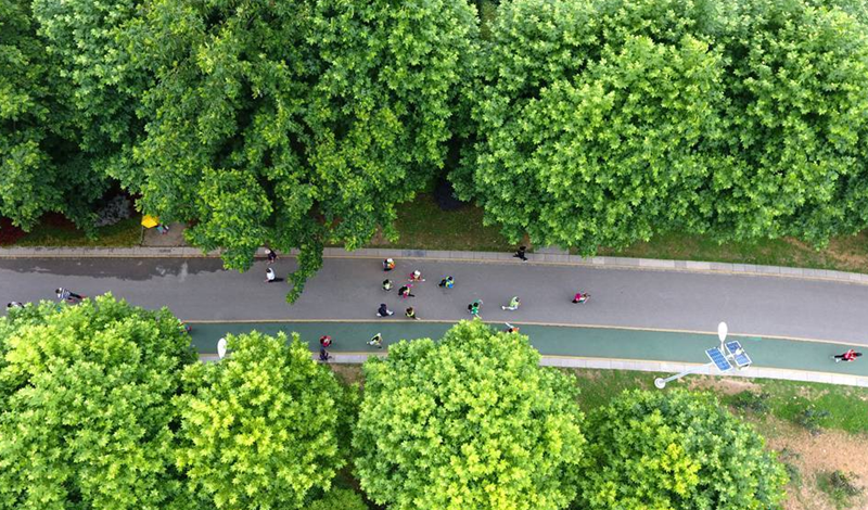 航拍:貴州啟動全國節能宣傳周活動 倡導節能低碳理念