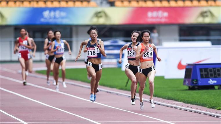 全國田徑冠軍賽:女子1500米賽況