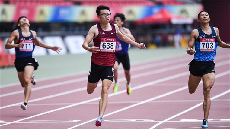 全國田徑冠軍賽:男子400米賽況