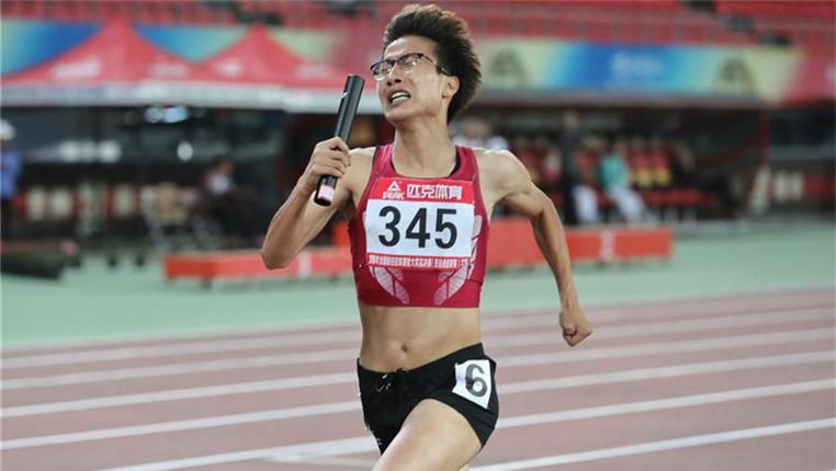 2018全國田徑冠軍賽:女子4×400米賽況
