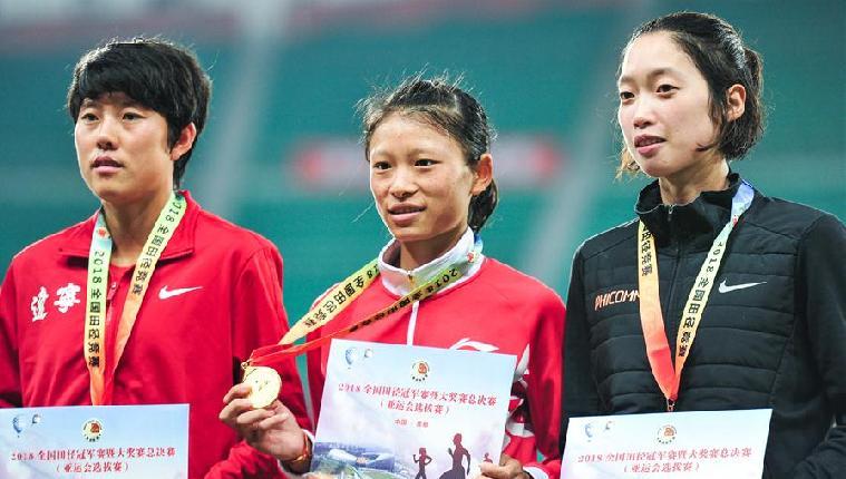 2018全國田徑冠軍賽:女子10000米賽況